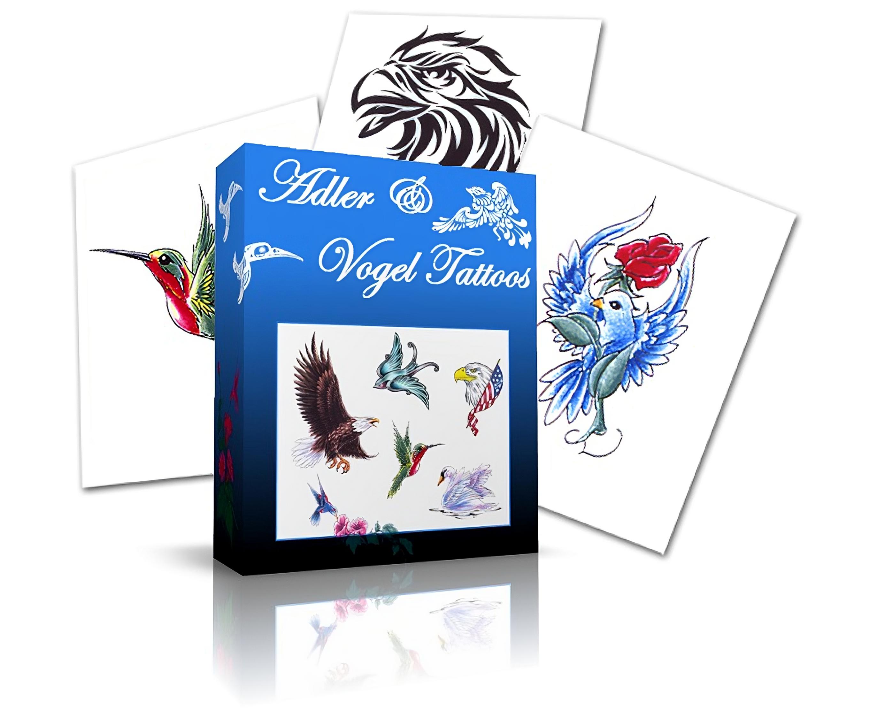 tattoo motive tiere adler und vogel tattoo vorlagen tattoo motive mnner mann mit farbiger. Black Bedroom Furniture Sets. Home Design Ideas