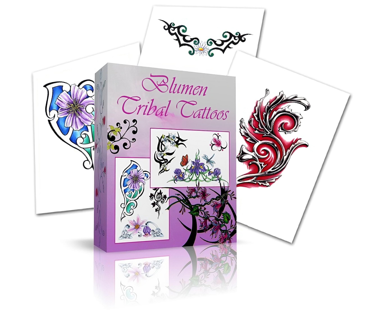 tribal tattoos vorlagen Tribals Blumen Tribals Tribals Farbige Schmetterling