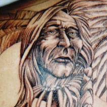 Indianer Tattoo