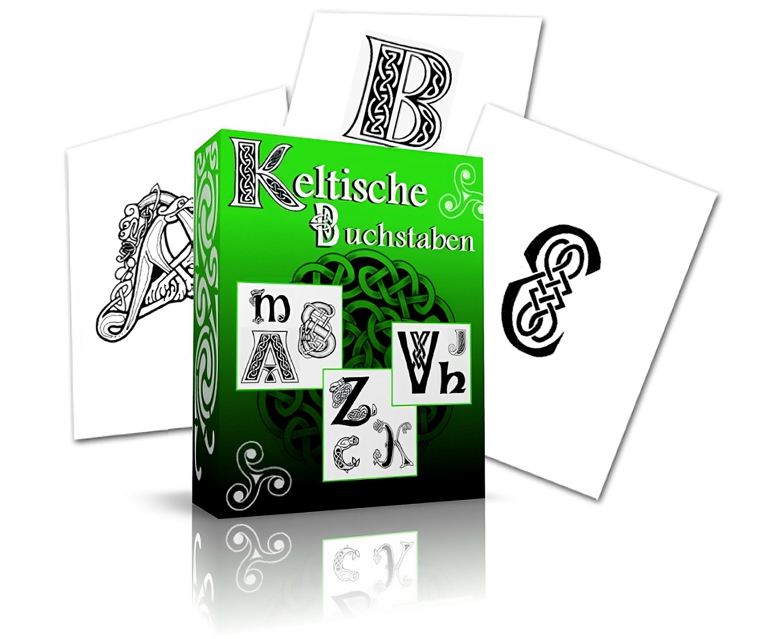 Keltische Buchstaben Tattoo Vorlagen