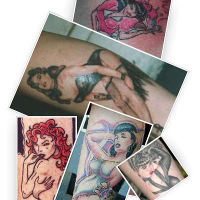 Pin-up Tattoo Fotogalerie