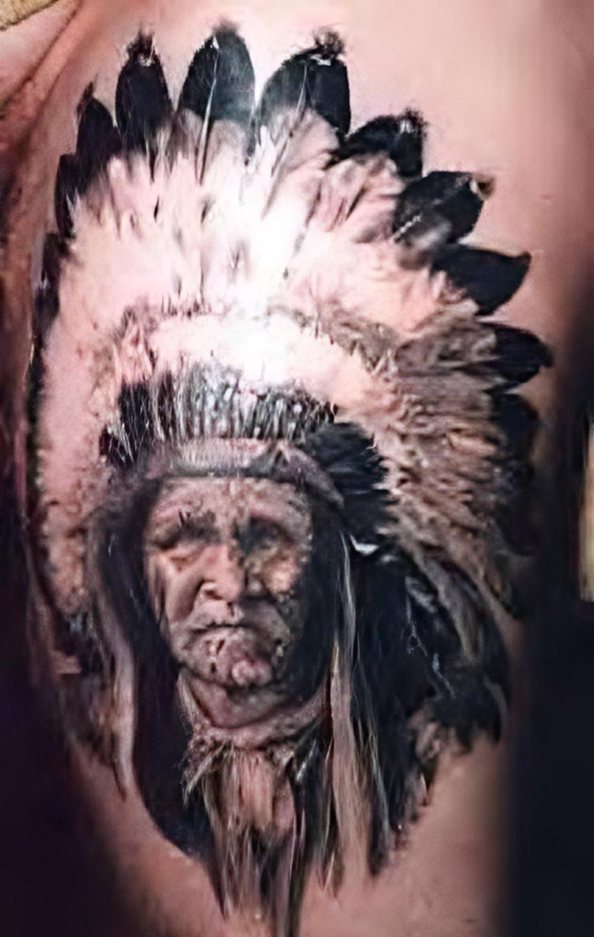indianer tattoo fotogalerie krieger h uptlinge squaws. Black Bedroom Furniture Sets. Home Design Ideas