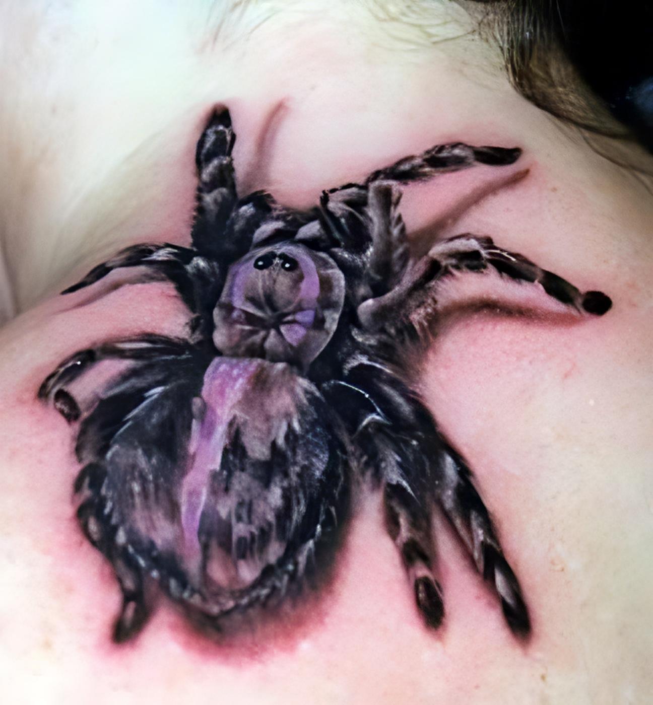 Pin Auf 40 Spooky Spider Tattoos 4