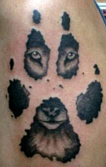 Permalink to Man In Wolf Tattoo
